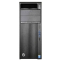 HP Z440, 1 x Intel Quad Core Xeon E5-1603 v3 2.8 GHz, 16 GB DDR4, 256 SSD, nVidia Quadro K4000 3GB GDDR5, DVDRW, Win 10 Pro - 1
