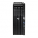 HP Z620, 2 x Intel Quad Core Xeon E5-2643 3.3 GHz, 32 GB DDR4, 500 SSD, nVidia Quadro M4000 8GB GDDR5, DVDRW, Win 10 Pro - 1 - C