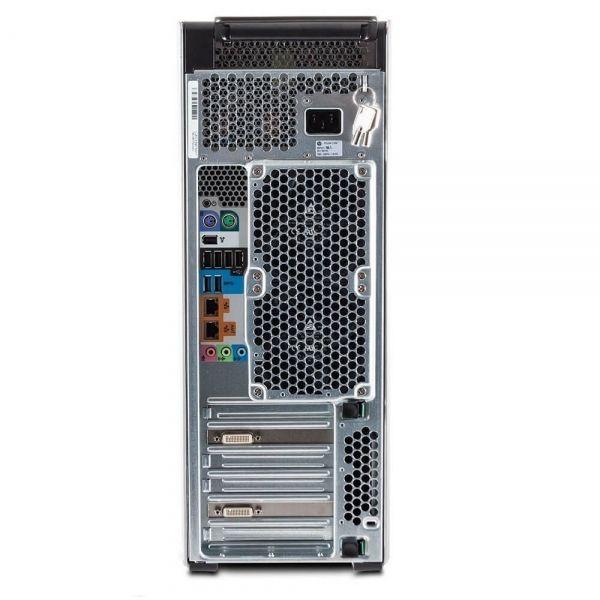 HP Z620, 2 x Intel Quad Core Xeon E5-2643 3.3 GHz, 32 GB DDR4, 500 SSD, nVidia Quadro M4000 8GB GDDR5, DVDRW, Win 10 Pro - 3 - C