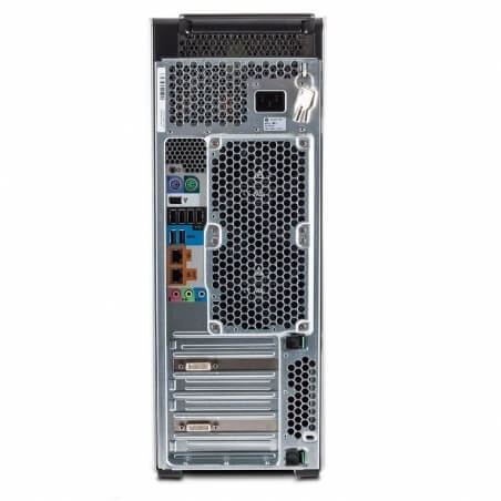 HP Z620, 2 x Intel Octa Core Xeon E5-2680 2.7GHz, 32 GB DDR4, 500 SSD, nVidia Quadro M4000 8GB GDDR5, DVDRW, Win 10 Pro - 3 - Ca