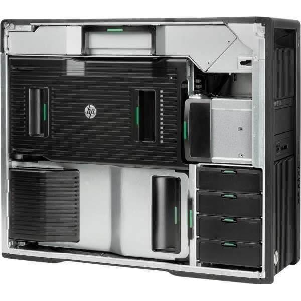 HP Z840, 2 x Intel Octa Core Xeon E5-2609 v4 1,7 GHz, 16 GB DDR4, 256 SSD, nVidia Quadro M2000 4GB GDDR5, DVDRW, Win 10 Pro - 2