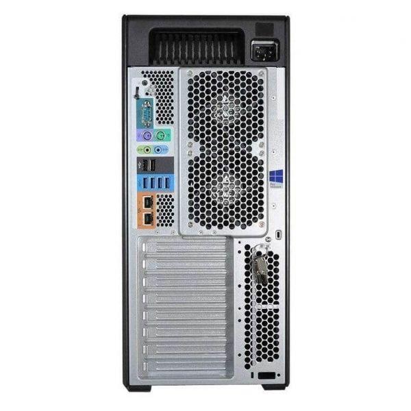 HP Z840, 2 x Intel Octa Core Xeon E5-2640 v3 2.6 GHz, 32 GB DDR4, 256 SSD, nVidia Quadro M4000 8GB GDDR5, DVDRW, Win 10 Pro - 3