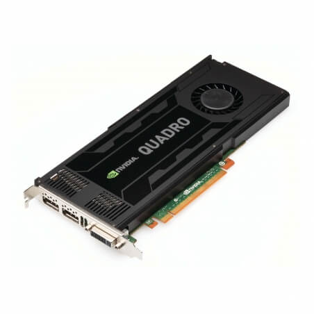 NVIDIA Quadro K4000, 3 GB, GDDR5, 768 Cores - 1 - Workstation Graphic Adapter - 539,07 lei