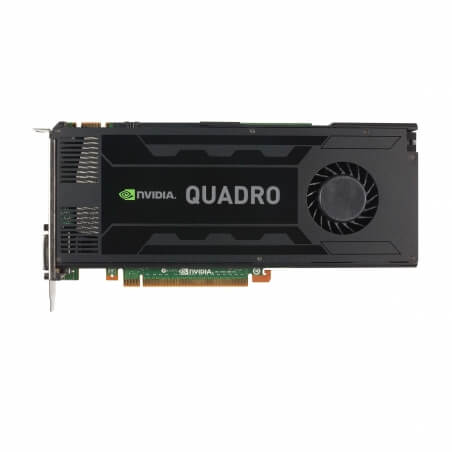 NVIDIA Quadro K4000, 3 GB, GDDR5, 768 Cores - 2 - Workstation Graphic Adapter - 539,07 lei
