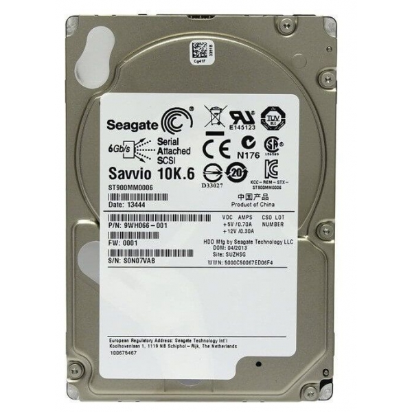 Hard disk server Seagate Savvio ST900MM0006, 900 GB, SAS, 10K RPM - 1 - Hard Disk Server - 325,76 lei