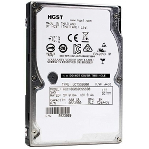 Hard disk server Hitachi Ultrastar C10K600 HUC106060CSS600 600 GB, 10K, 2.5""
