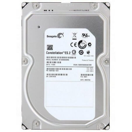 Hard disk server Seagate Constellation ES ST33000650NS 3TB 7200 RPM SATA 6.0Gb/s