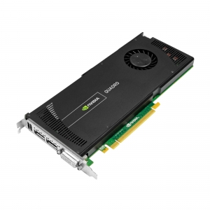 NVIDIA Quadro 4000, 2 GB, GDDR5, 256 Cores - 1 - Workstation  - 856,80 lei