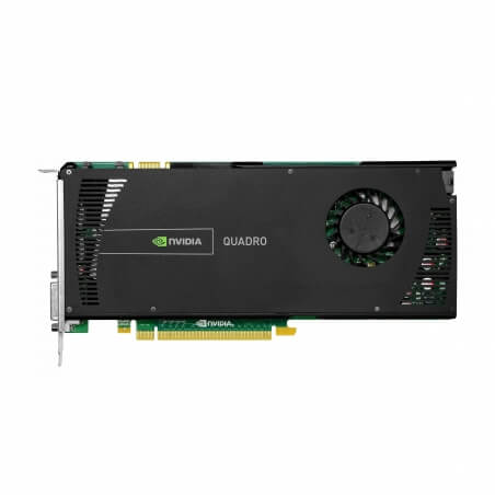 NVIDIA Quadro 4000, 2 GB, GDDR5, 256 Cores - 2 - Workstation Graphic Adapter - 476,00 lei