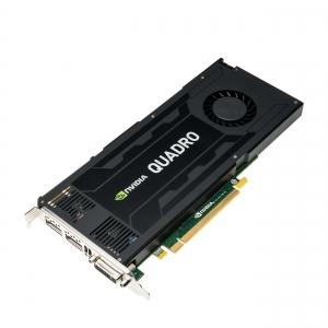 NVIDIA Quadro K4200, 4GB, GDDR5, 1344 cores - 1 - Placa Grafica Workstation - 1.100,99lei