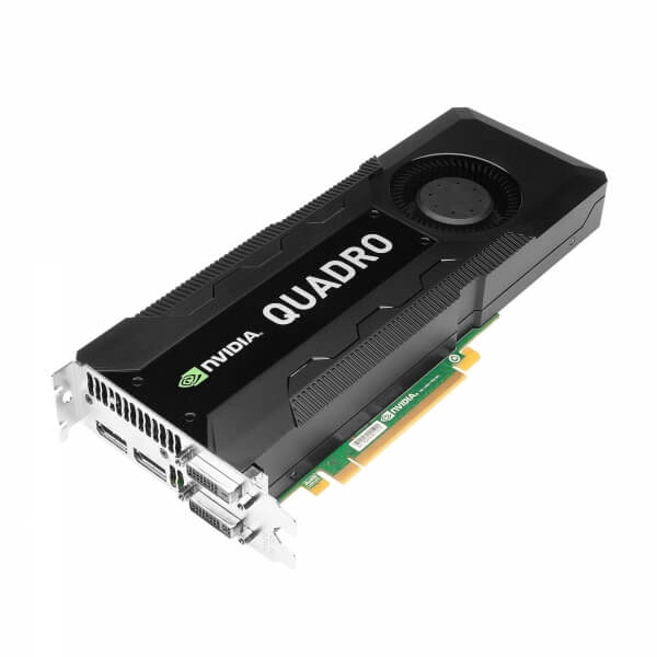 NVIDIA Quadro K5000, 4 GB, GDDR5, 1536 Cores - 1 - Placa Grafica Workstation - 1.523,20 lei