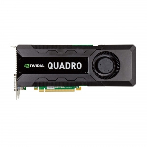 NVIDIA Quadro K5000, 4 GB, GDDR5, 1536 Cores - 2 - Workstation Graphic Adapter - 1.428,00 lei