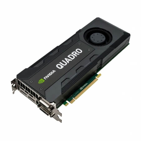 NVIDIA Quadro K5200, 8GB, GDDR5, 2304 Cores - 1 - Workstation Graphic Adapter - 1.999,20 lei