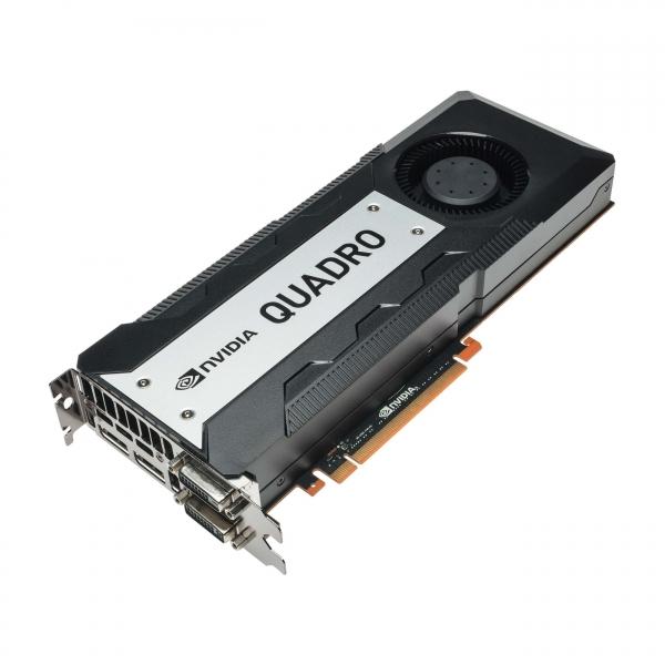 NVIDIA Quadro K6000, 12 GB, GDDR5, 2880 Cores