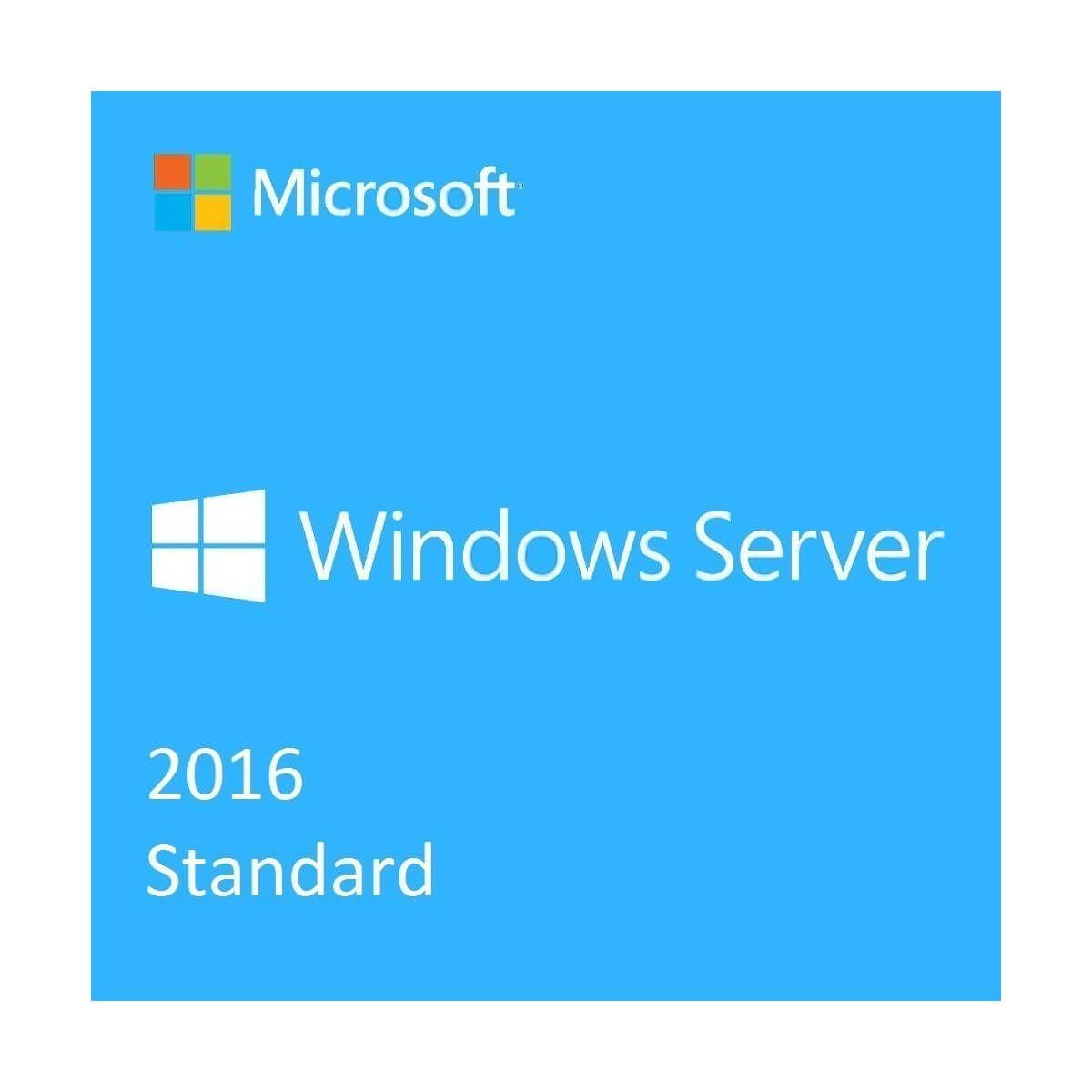 Windows Server 2016 Standard - 1 - Software - 3.907,96 lei