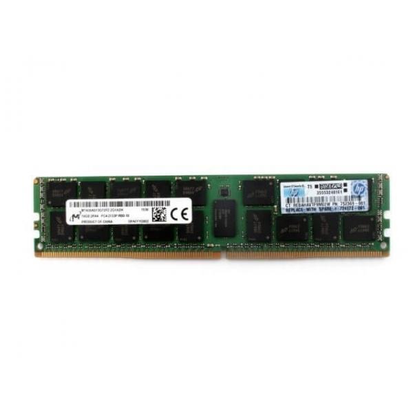 Memorie Server 16GB DDR4 2133MHZ PC4-17000 2Rx4 CL15 HP 752369-081 / 726719-B21, - 1 - Componente server - 349,98lei