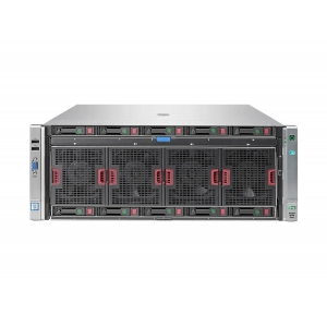 HP Proliant DL580 G9, 5 x SFF, 4 x Intel 18 Core Xeon E7-8880 V3 2.3 GHz, 128 Gb DDR4, P440ar, 4 x 1200W - 1 - Server Refurbishe