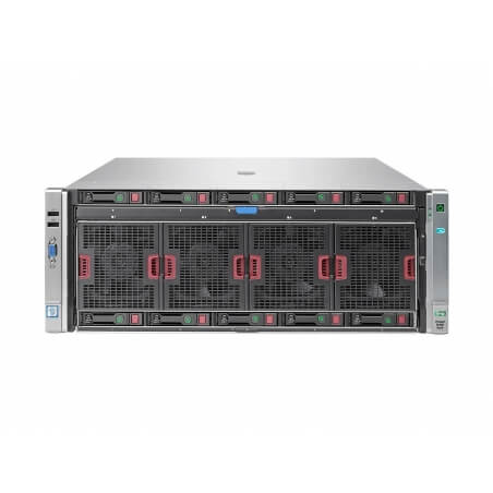 HP Proliant DL580 G9, 5 x SFF, 4 x Intel 18 Core Xeon E7-8880 V3 2.3 GHz, 128 Gb DDR4, P440ar, 4 x 1200W - 1 - Server Refurbishe