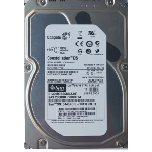 "Hard Disk Server Seagate Constelation ST32000444SS 2TB 7200 rpm SAS 3.5"" LFF - 1 - Hard Disk Server - 261,80 lei"