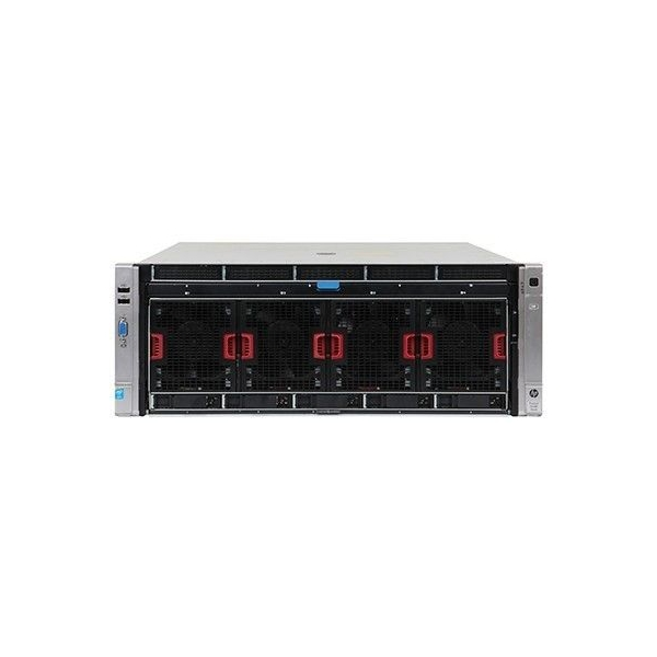 HP ProLiant DL580 G8, 4 x 15 Core Xeon E7-4880v2 2,5GHz, 512 GB DDR3, 5 SFF, SmartArray P830i 2GB FBWC, 4 x 1200W - 1 - Server R