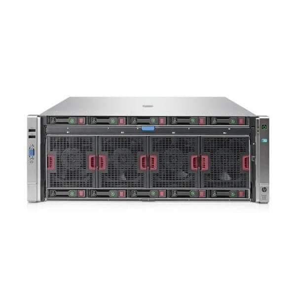 HP ProLiant DL580 G8, 4 x 15 Core Xeon E7-4880v2 2,5GHz, 128 GB DDR3, 10 SFF, SmartArray P830i 2GB FBWC, 4 x 1200W - 1 - Server