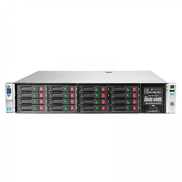HP ProLiant DL380P 8LFF, 2 x Hexa Core Xeon E5-2630L 2.0 Ghz, 32 Gb DDR3, P420, 2 x 300 GB SAS 15k, 2 x 460W