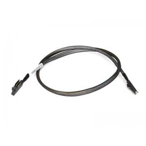 Cablu HP MINI SAS SFF-8087 24.5 inch (64 cm) pentru HP PROLIANT DL360e G8 (1 x drept, 1 x 90 grade) 685183-001