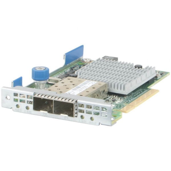 Placa retea 10Gbps HP 530FLR-SFP+ Dual Port - 10GbE SFP+ FLR Ethernet - 1 - Server Network Adapter - 123,76 lei