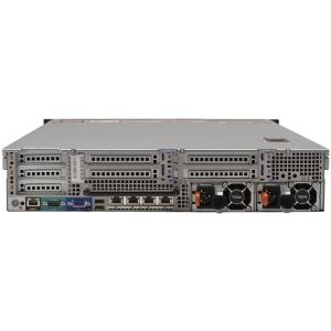 Dell PowerEdge R720 8 x LFF, 2 x Hexa Core Xeon E5-2640 2.5GHz, 32 Gb DDR3, Perc H710 Mini, iDrac7 Ent, 2 x 750W, 2 Ani garantie