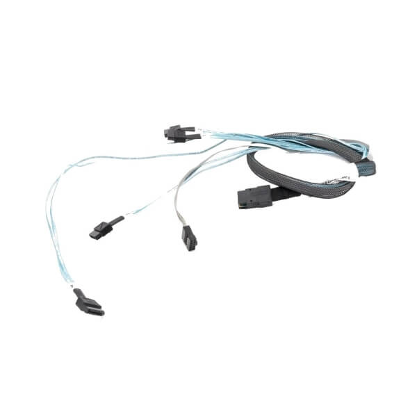Cablu Mini SAS - 4 SATA, 90 cm, HP 538872-001 580751-001 - 1 - Cables and Addapters - 116,62 lei