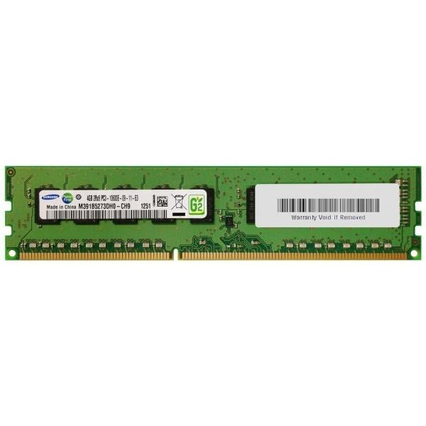 Memorie Server 4 GB 1Rx8 PC3-14900E DDR3-1866 MHz Unbuffered  ECC - 1 - Memorie Server - 214,20lei