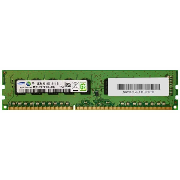 Memorie Server 4 GB 2Rx8 PC3-12800E DDR3-1600MHz Unbuffered  ECC - 1 - Server Memory - 202,30 lei