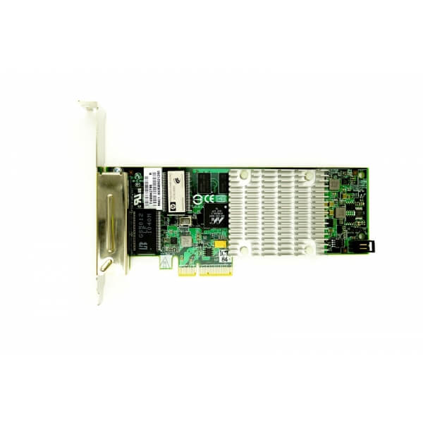 Placa Retea Server Ethernet 4 port Gigabit HP NC375T RJ45 Full Height - 538696-B21 - 1 - Placa Retea Server - 214,20lei