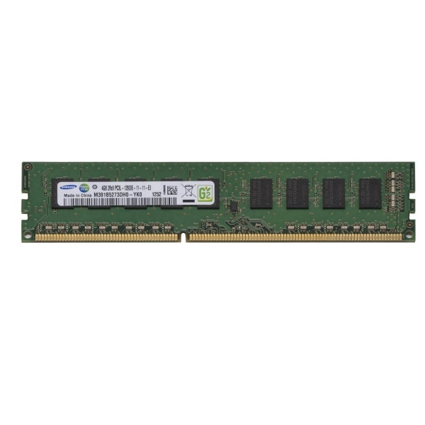 Memorie Server 4 GB 2Rx8 PC3L-12800E DDR3-1600 MHz Unbuffered  ECC Low Voltage - M391B5273DH0-YK0 - 1 - Memorie Server - 160,65