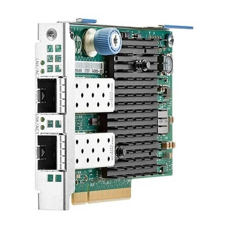 Placa retea server 10Gbps HP 560FLR-SFP+ Dual Port - 10GbE SFP+ FLR Ethernet - HP 665243-B21 - 1 - Server Network Adapter - 238,