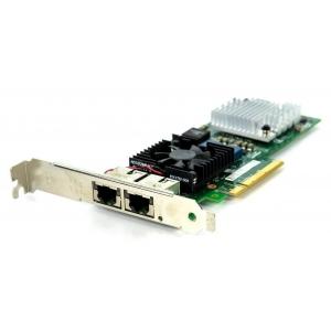 Placa retea Dell Intel X520-T2 10Gb Dual Port Full Height - JM42W - 1 - Placa Retea Server - 654,50lei
