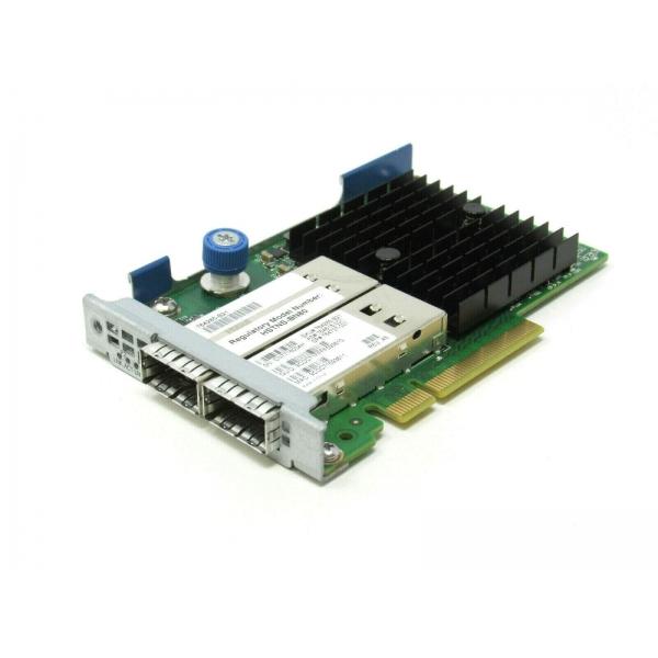 LOM HP 544FLR Mellanox ConnectX-3 10/40 Gbps Dual Port QSFP- Infiniband / Ethernet HP - 764285-B21 - 1 - Server Network Adapter
