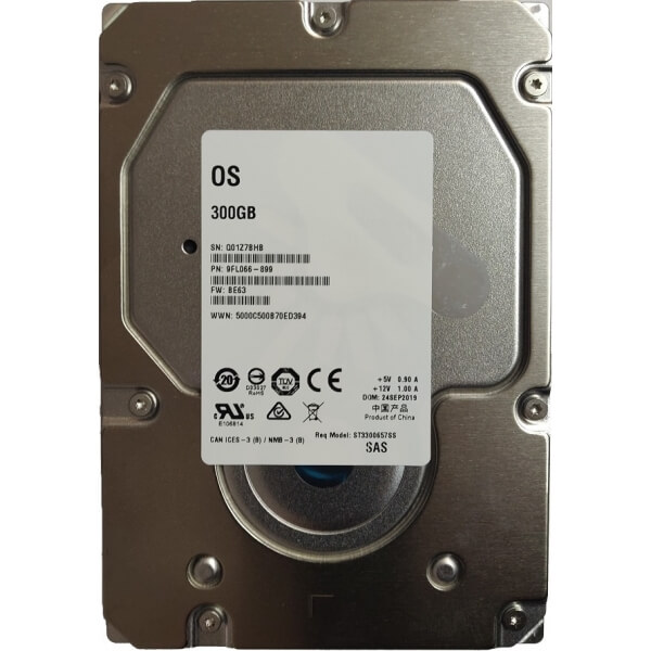 "Hard Disk Server 300GB 3.5"" Seagate Cheetah ST3300657SS 3.5 inches 6Gbps 15K RPM SAS HDD - 1 - Hard Disk Server - 297,50 lei"