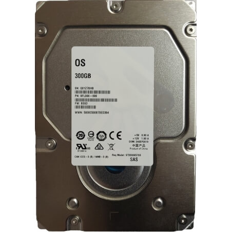 """Hard Disk Server 300GB 3.5"""" Seagate Cheetah ST3300657SS 3.5 inches 6Gbps 15K RPM SAS HDD - 1 - Hard Disk Server - 297,50lei"""