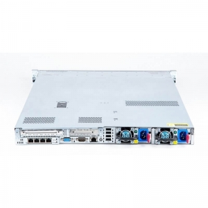 "Server HP Proliant DL360p G8, 4 x 3.5"", 2 x 2609 v1, 16 GB DDR3, Smart Array P420+1FGB, 2 x 460W, 2 x 10GBbps, 2 ani garantie -"