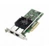 Placa Retea Server Intel X540-T2 Dual Port 10Gb Ethernet RJ45 Full Height Low Profile - Dell 03DFV8 - 1 - Server Network Adapter