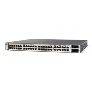 Switch Cisco Catalyst 3750E-48TD, 24 x 10/100/1000 + 2 x 10Gbps (X2), Management Layer 3 - WS-C3750E-24TD-E - 1 - Switch - 1.285