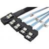 Cablu SAS 36-Pin (SFF 8087) la 4 x SATA, 1 m - 1 - Cabluri si Adaptoare - 119,00lei
