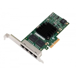 Placa Retea Server Ethernet 4 port Gigabit Intel I350-T4 Full Height - Dell 0THGMP - 1 - Placa Retea Server - 384,37lei