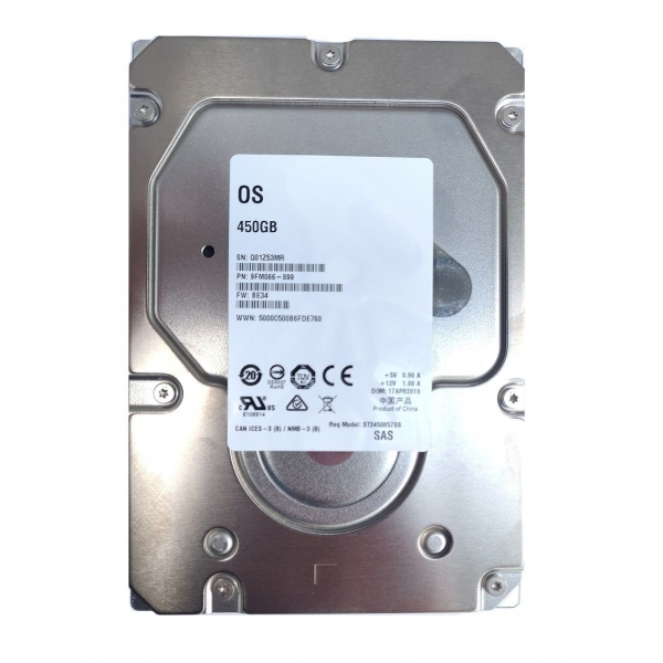 "Hard Disk Server 450GB 3.5"" Seagate Cheetah ST3450857SS 3.5 inches 6Gbps 15K RPM SAS HDD - 1 - Hard Disk Server - 285,60 lei"