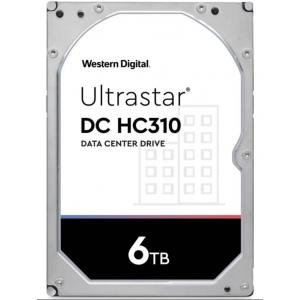 """Hard disk server 6TB SATA 6Gbps 7.2k 3.5"""" 256MB Cache HGST Ultrastar DC HC310 HUS726T6TALE600 - 1 - Hard Disk Server - 833,00le"""