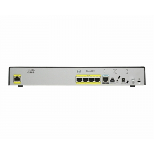 Cisco 881 Ethernet Security Router,  WAN 1 x 10/100Base-TX, LAN 4 x 10/100Base-TX - CISCO881-K9 - 2 - Categories - 209,44lei