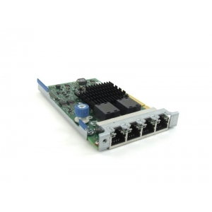 LOM HP 366FLR Intel i350 1Gbps Quad Port - HP 669280-001 - 1 - Placa Retea Server - 226,10lei