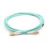 Cablu fibra optica OM3 (patch cord), Duplex, conectori LC, 3m - 1 - Network Cables - 47,60lei