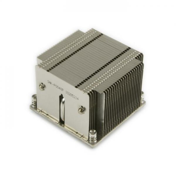 Heatsink / Radiator Supermicro 2U Passive CPU Heat Sink Socket LGA2011 Square ILM - SNK-P0048P - 1 - Heatsink - 226,10lei